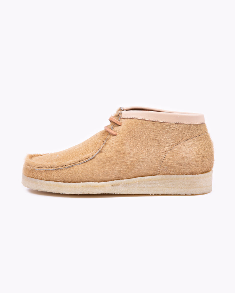 Padmore and Barnes P404 - Natural Hairy Suede W