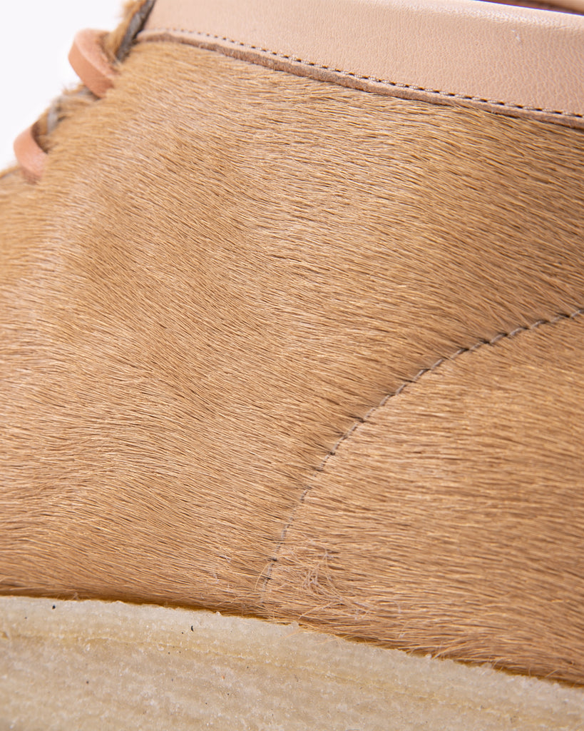 Padmore and Barnes P404 - Natural Hairy Suede