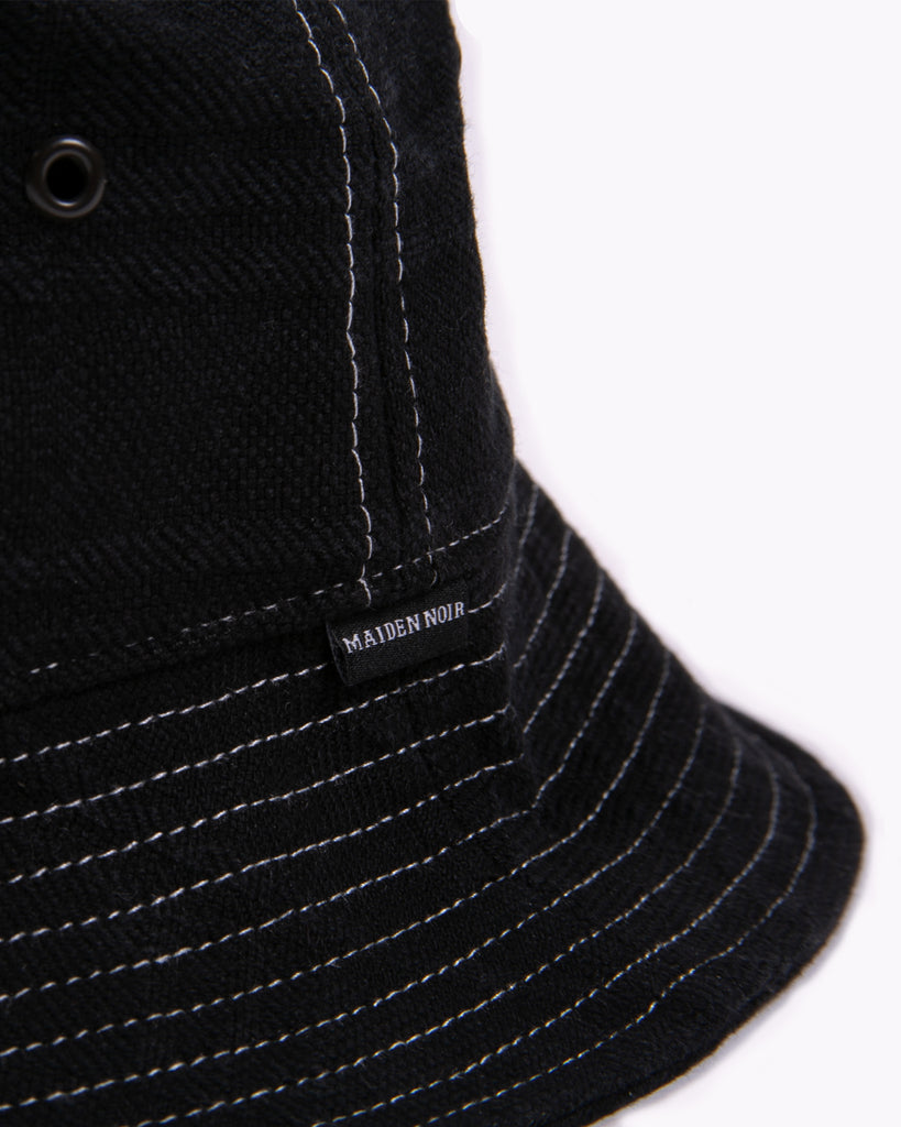 Takeyari Bucket Cap - Black