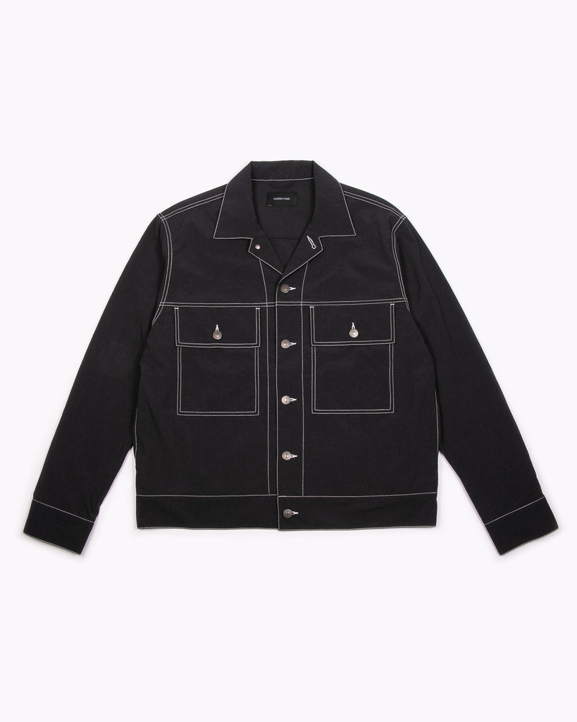 Nylon Ranch Jacket - Black