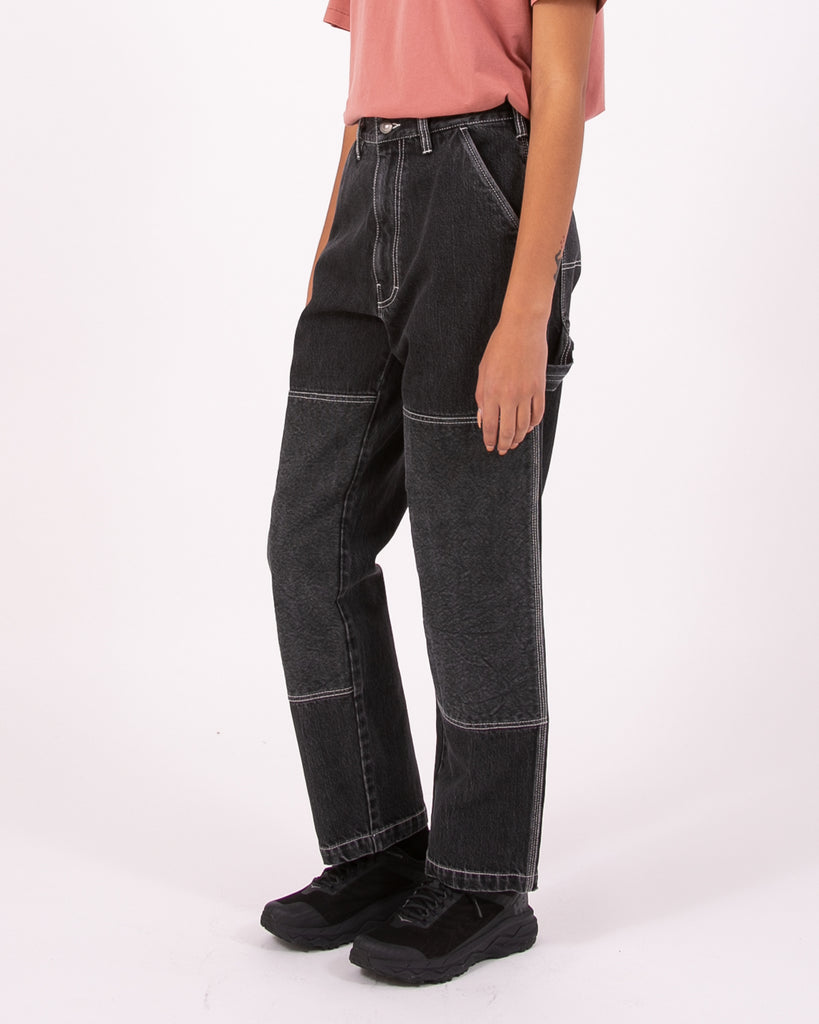 Double Knee Trouser - Black W