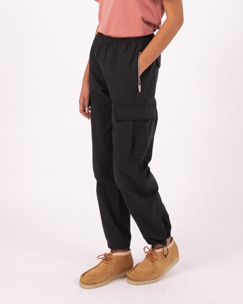 Warm Up Cargo Trouser - Black W