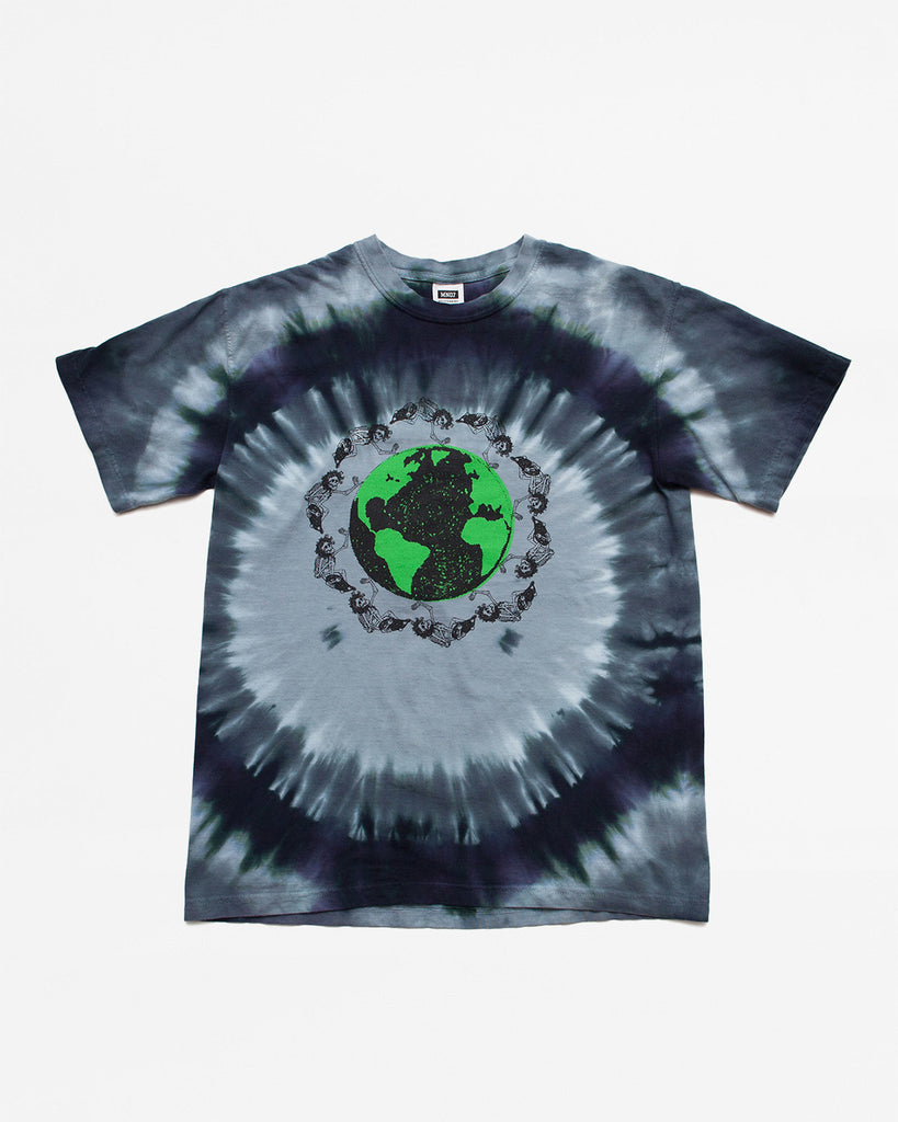 Dead Plant World SS Tee - Black/Green Tie Dye