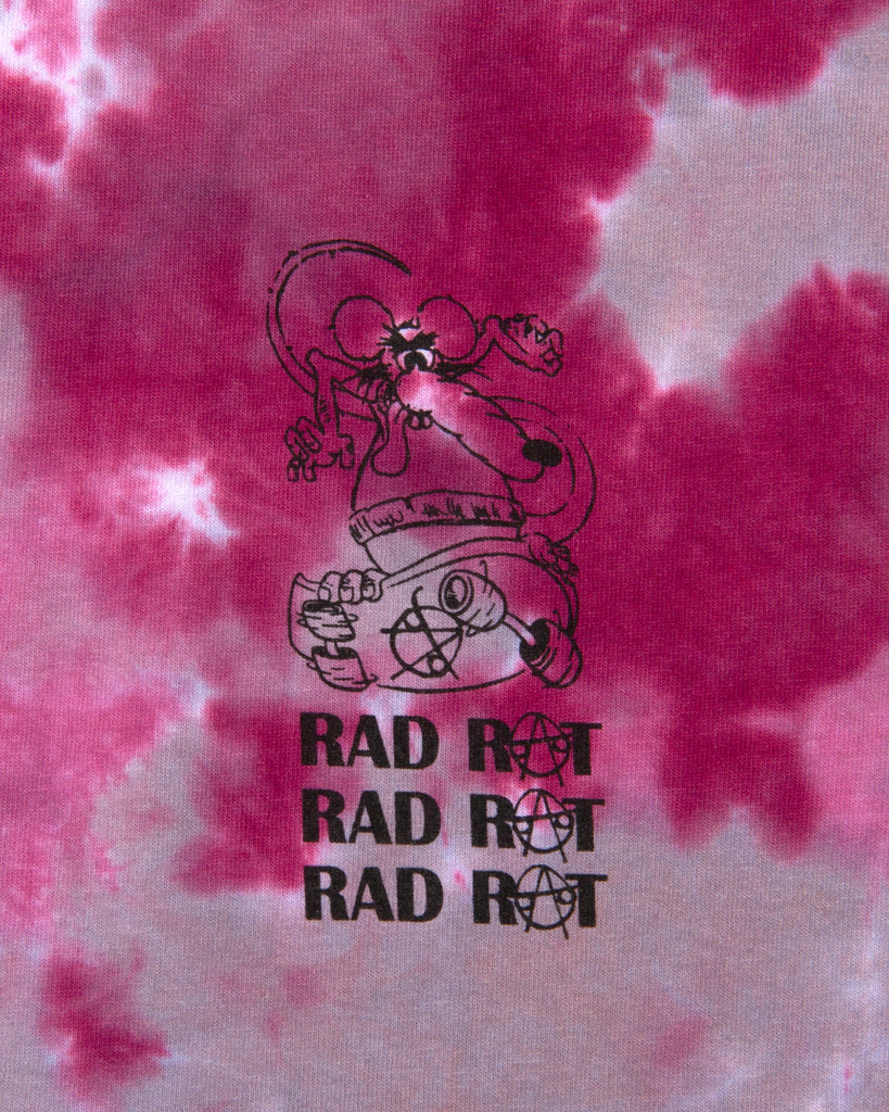 Rad Rat Shirt - Tie Dye - [product _vendor]