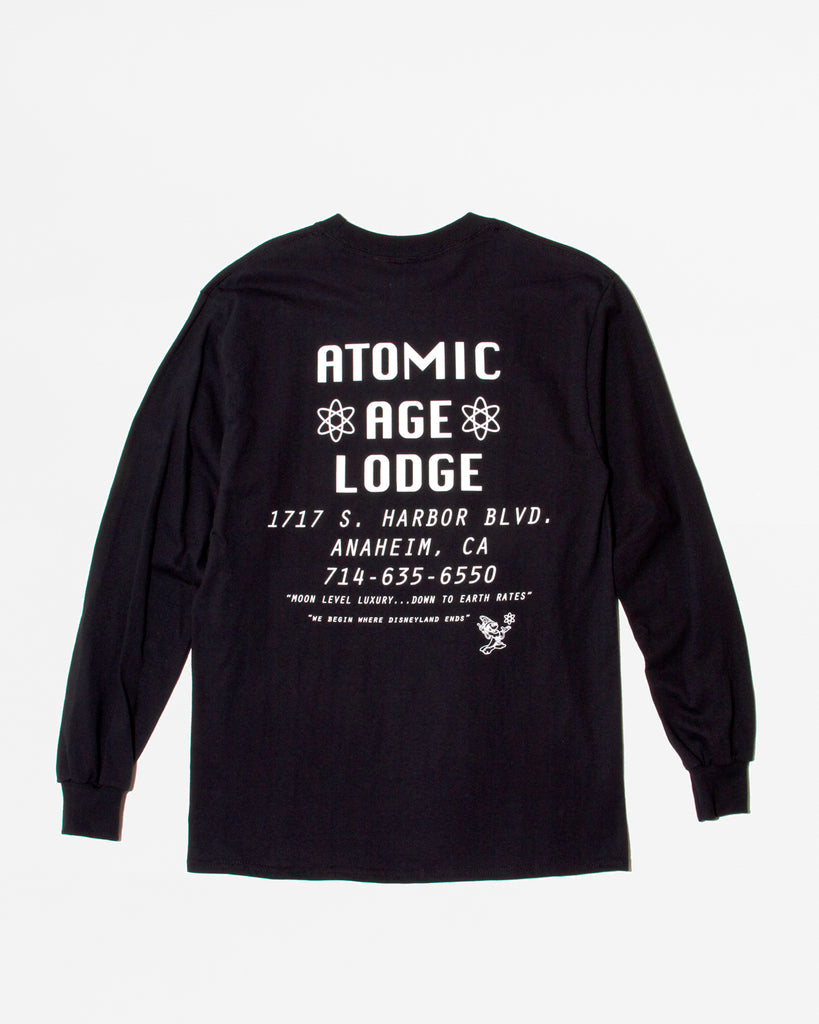 Atomic Lodge LS Shirt - Black - Maiden Noir