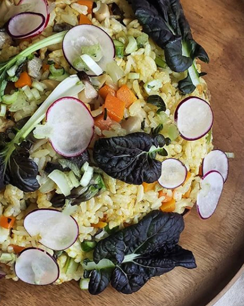 Brothers & Co. Oyster Mushroom Fried Rice Dinner 10/16/2020 Ballard Local Pick-up