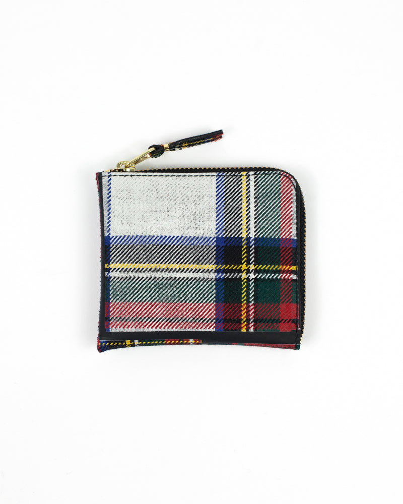 Tartan Patchwork Zip Wallet - Red - [product _vendor]