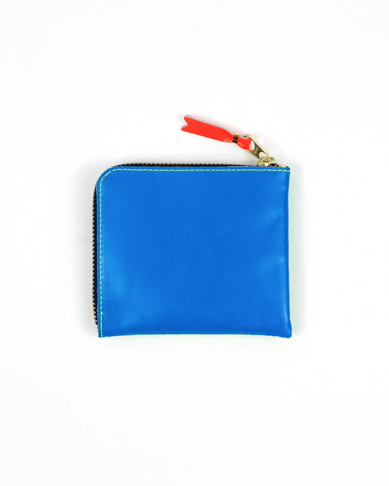 Super Fluo Zip Wallet - Blue/Green - Maiden Noir