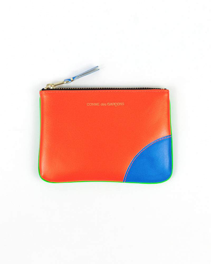 Super Fluo Small Zip Pouch - Green/Orange - [product _vendor]