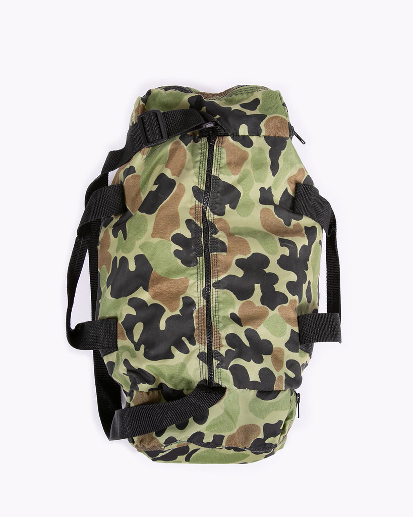 Camo Duffle Bag - Olive/Green/Black