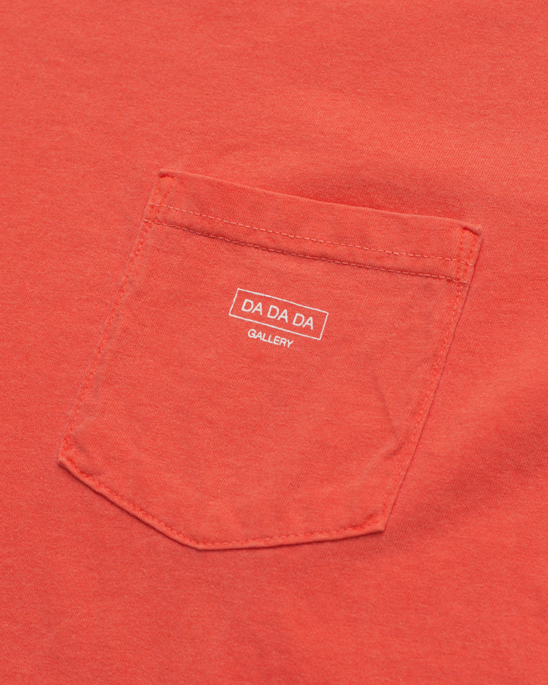 Logo Pocket Tee - Salmon - Maiden Noir