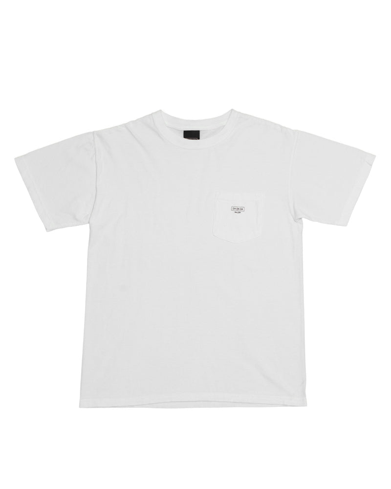 Logo Pocket Tee - White - [product _vendor]
