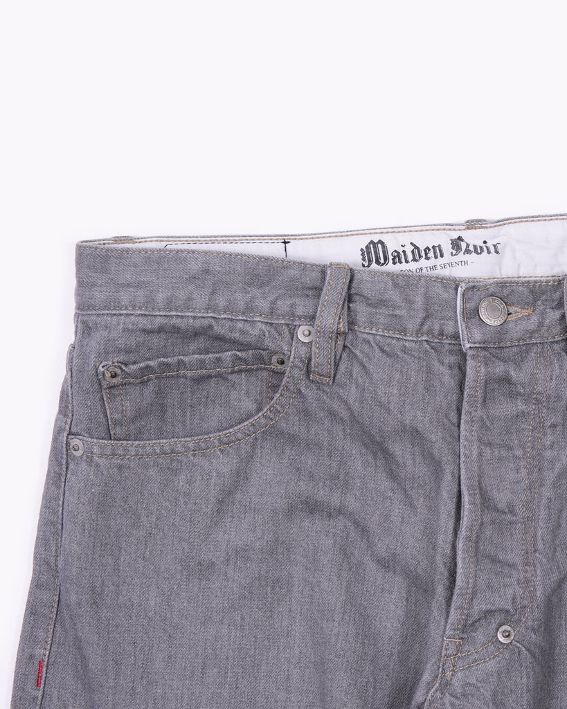 Original Full Fit Washed Denim - Grey