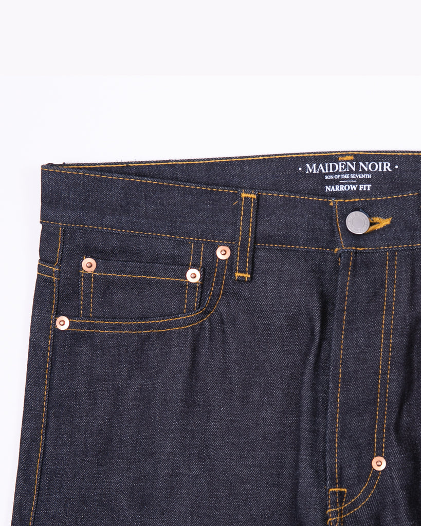 Narrow Raw Denim - Indigo