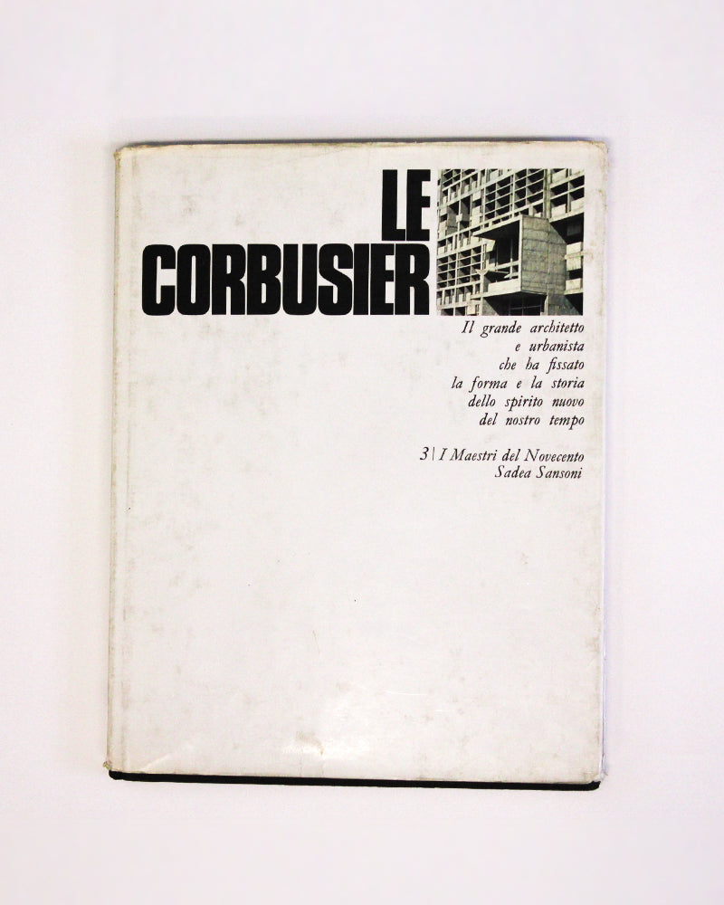 Le Corbusier II Grande Architetto - [product _vendor]