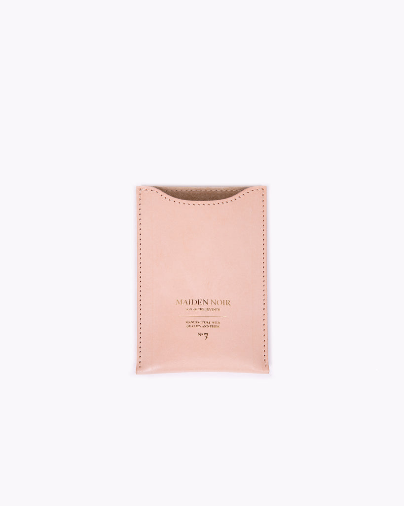 Leather Wallet - Tan