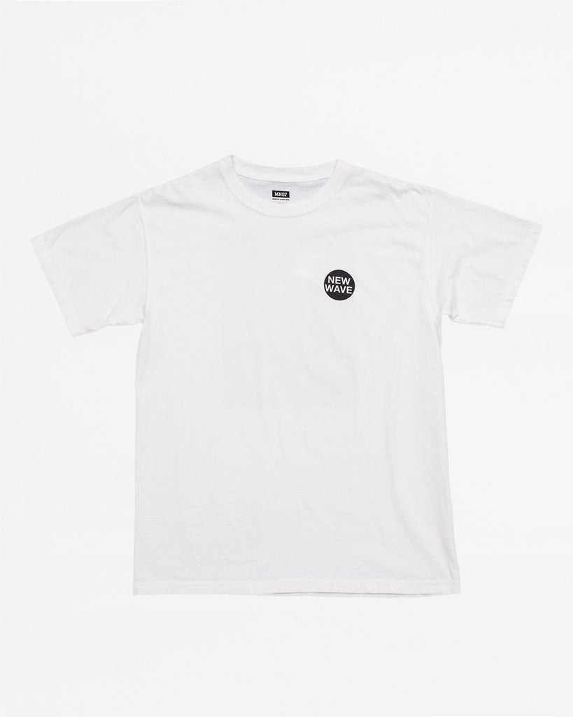 New Wave Tee - White