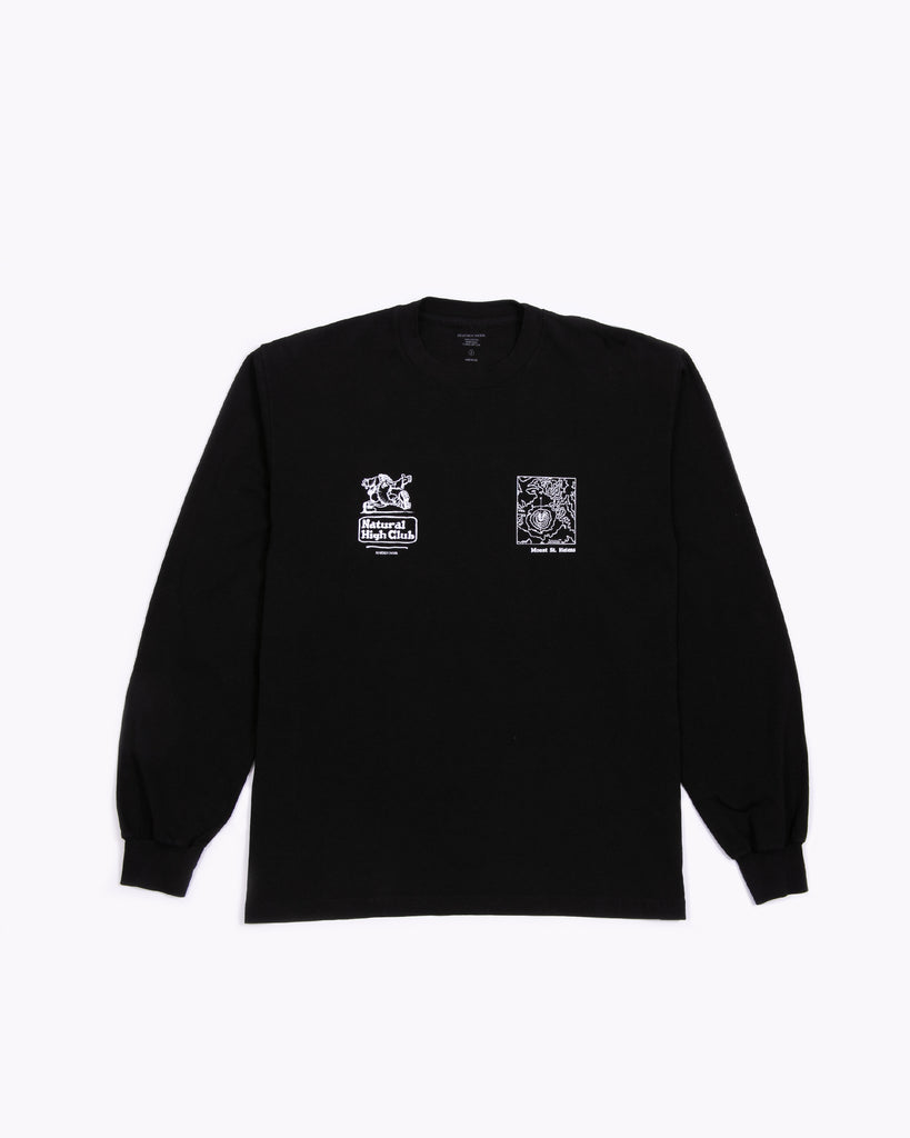 Natural High L/S Jersey - Black