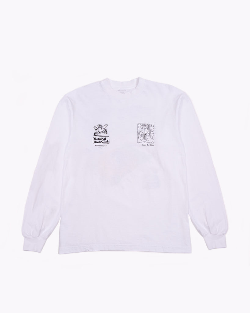 Natural High L/S Jersey - White