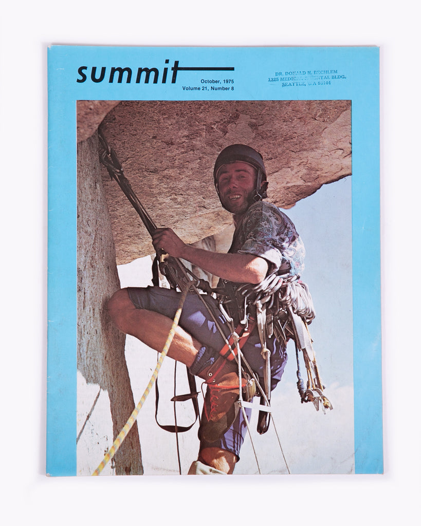 Summit Magazine - October 1975 Vol. 21 No. 8