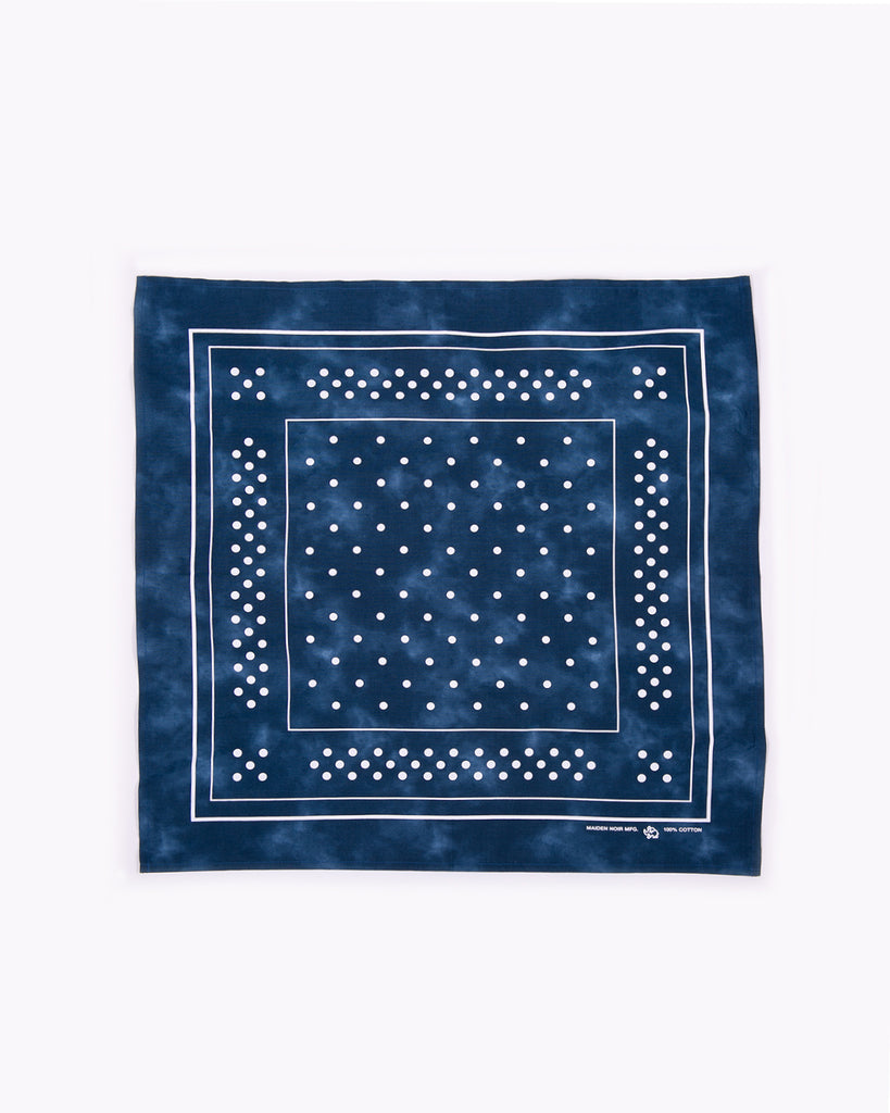 Marbled Bandana - Navy
