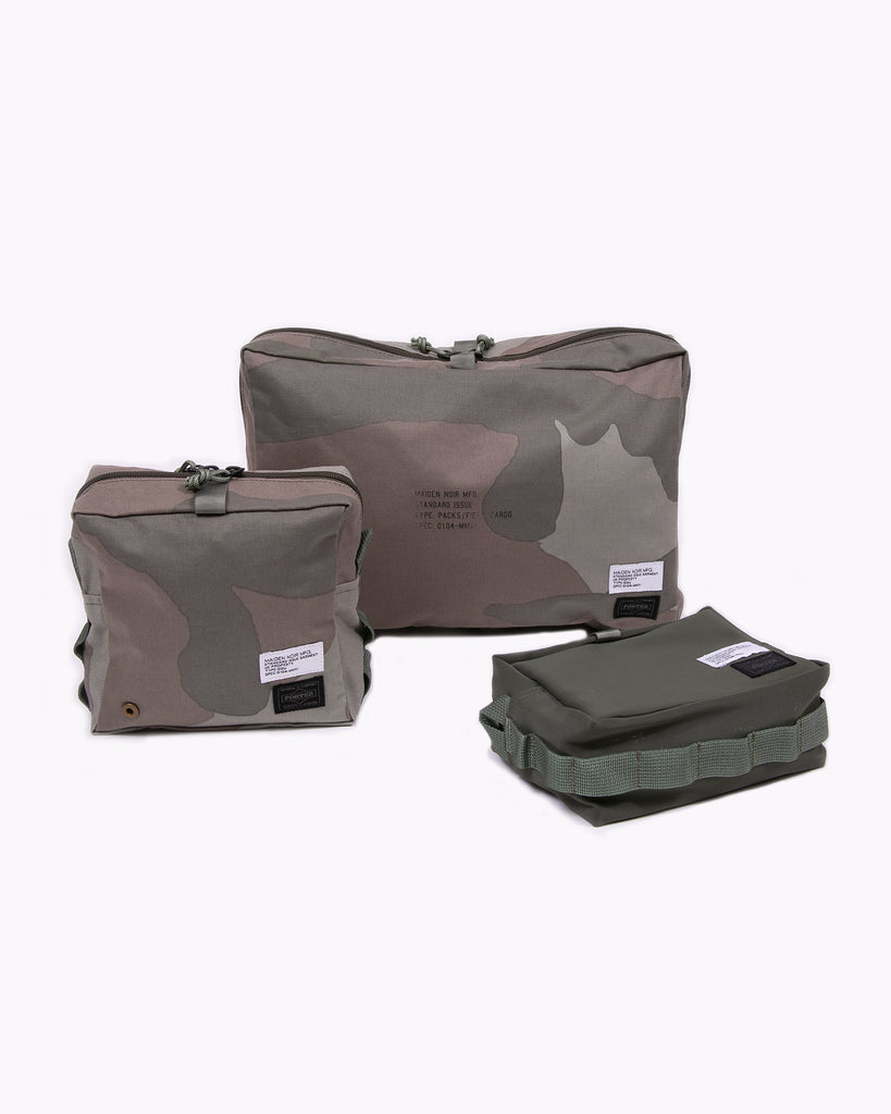Porter Travel Bag Set - Olive/Camo