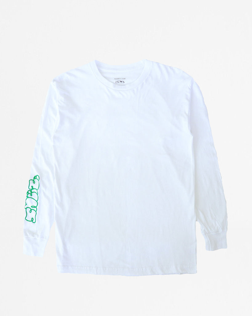Sneeze LS Shirt - White - [product _vendor]