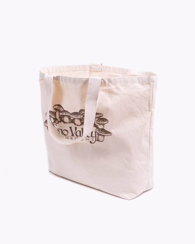 Sno-Valley Market Tote - Natural