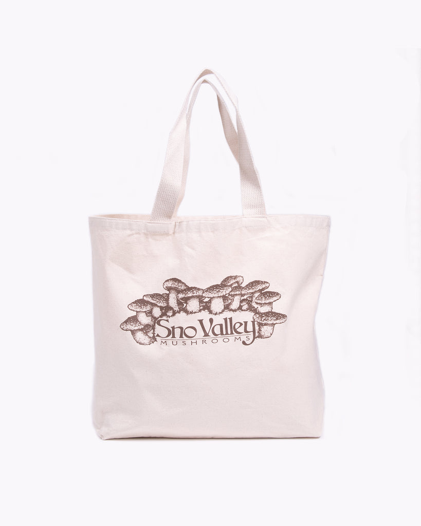 Sno-Valley Market Tote - Natural W
