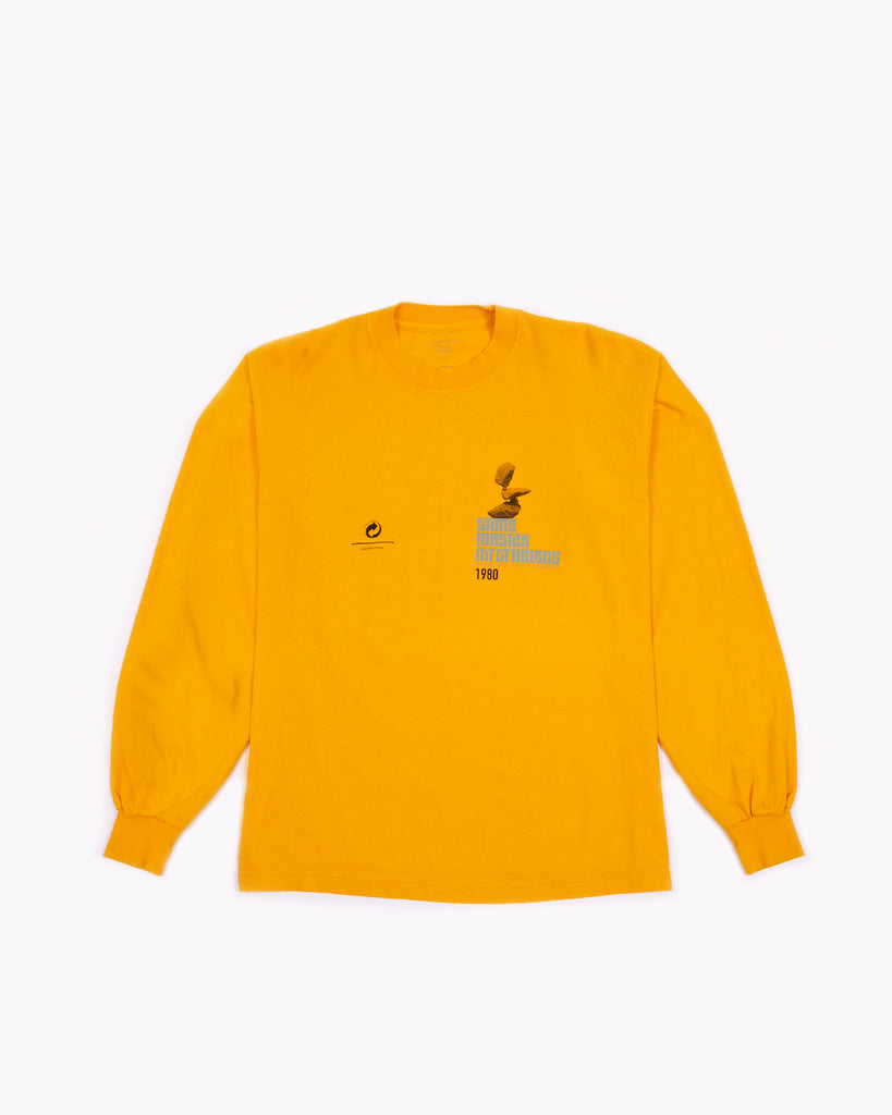 Stacked L/S Jersey - Gold