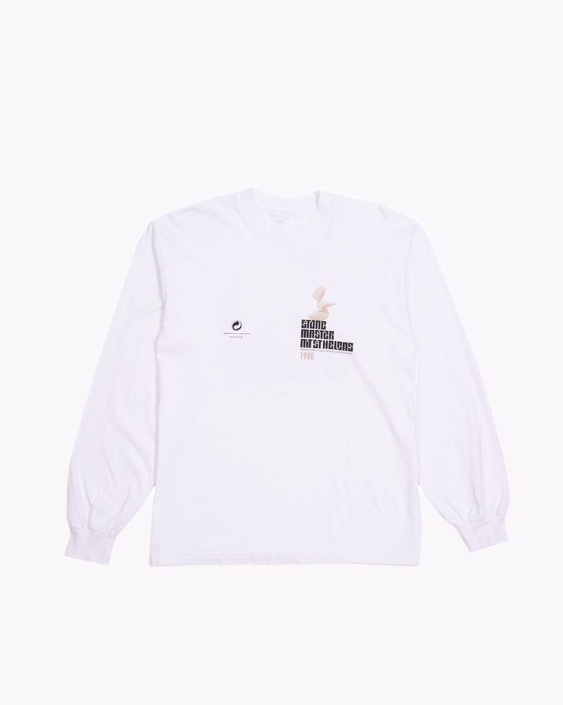 Stacked L/S Jersey - White