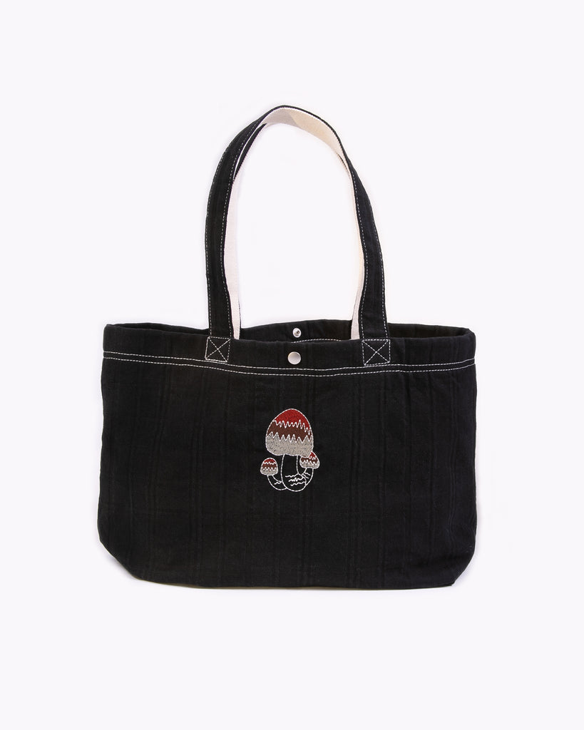 Takeyari Tote Bag - Black W