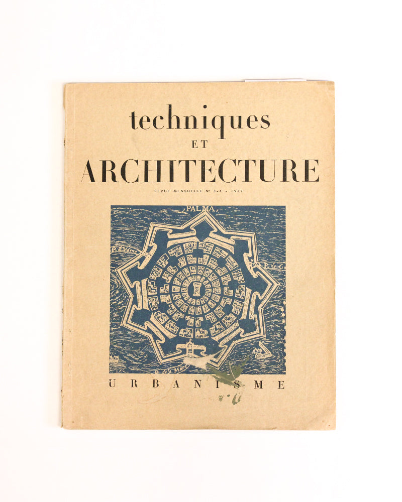 Techniques Et Architecture Vol 3-4 - [product _vendor]