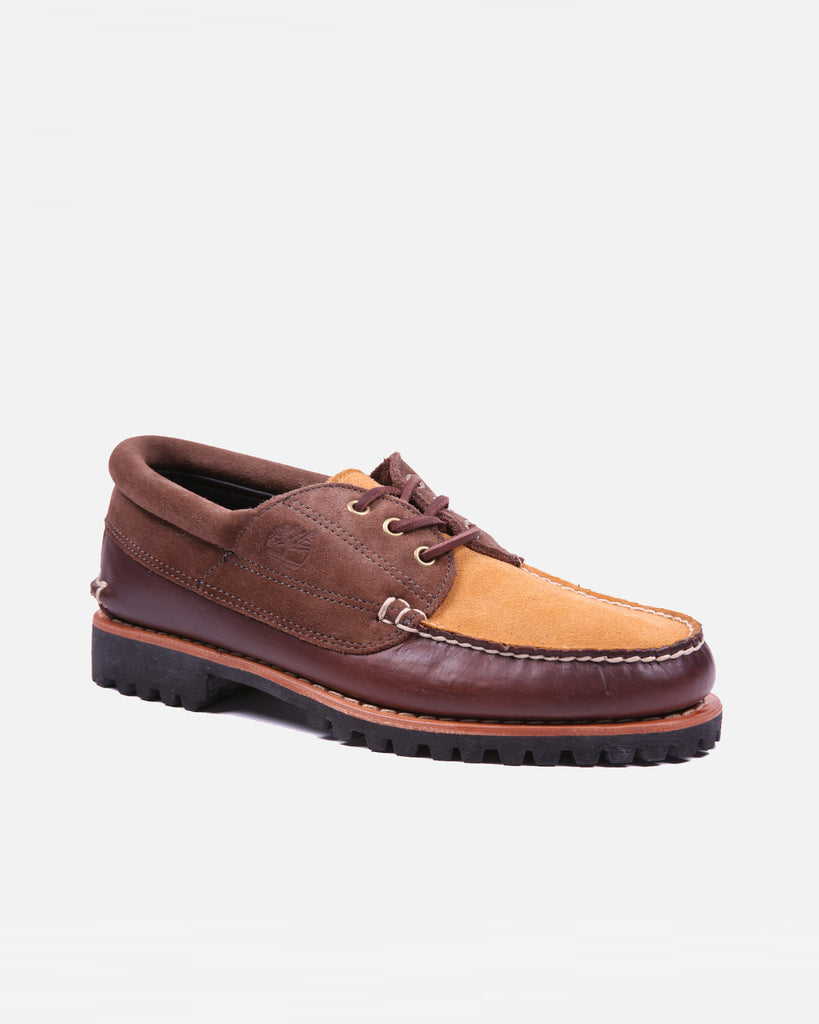 Timberland 3 Eyed Lugged Moccasin - Brown