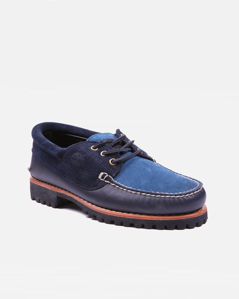 Timberland 3 Eyed Lugged Moccasin - Navy