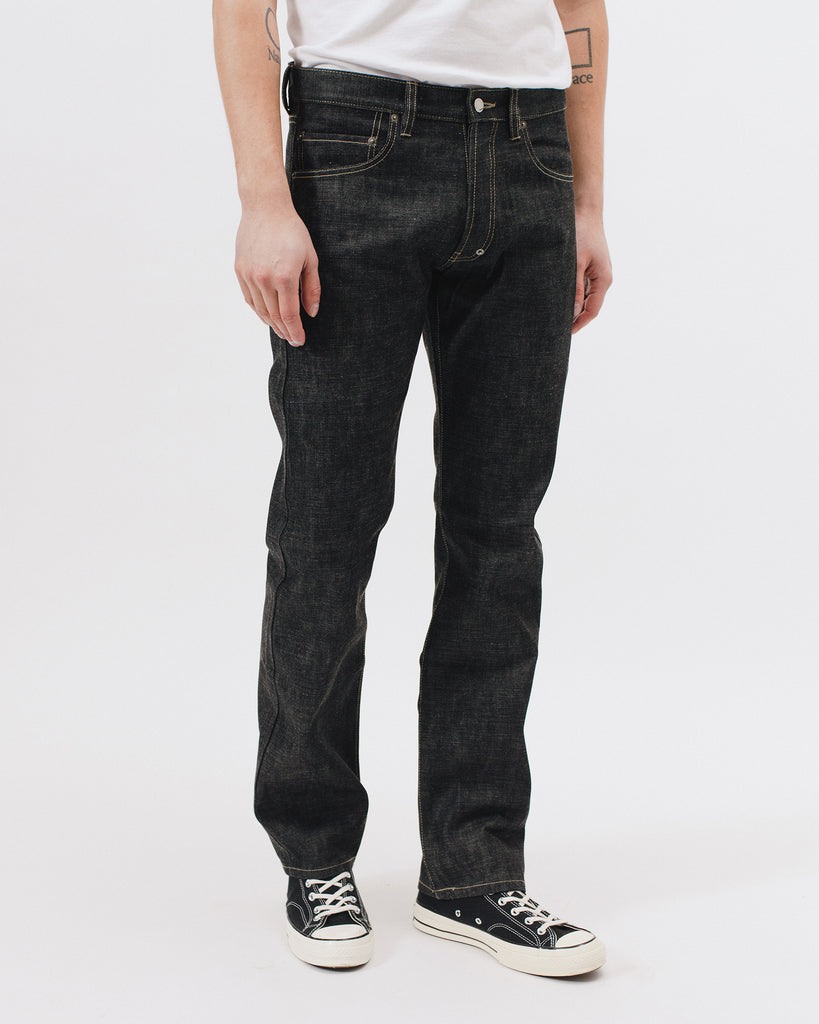 Original Full Fit Raw Denim - Black