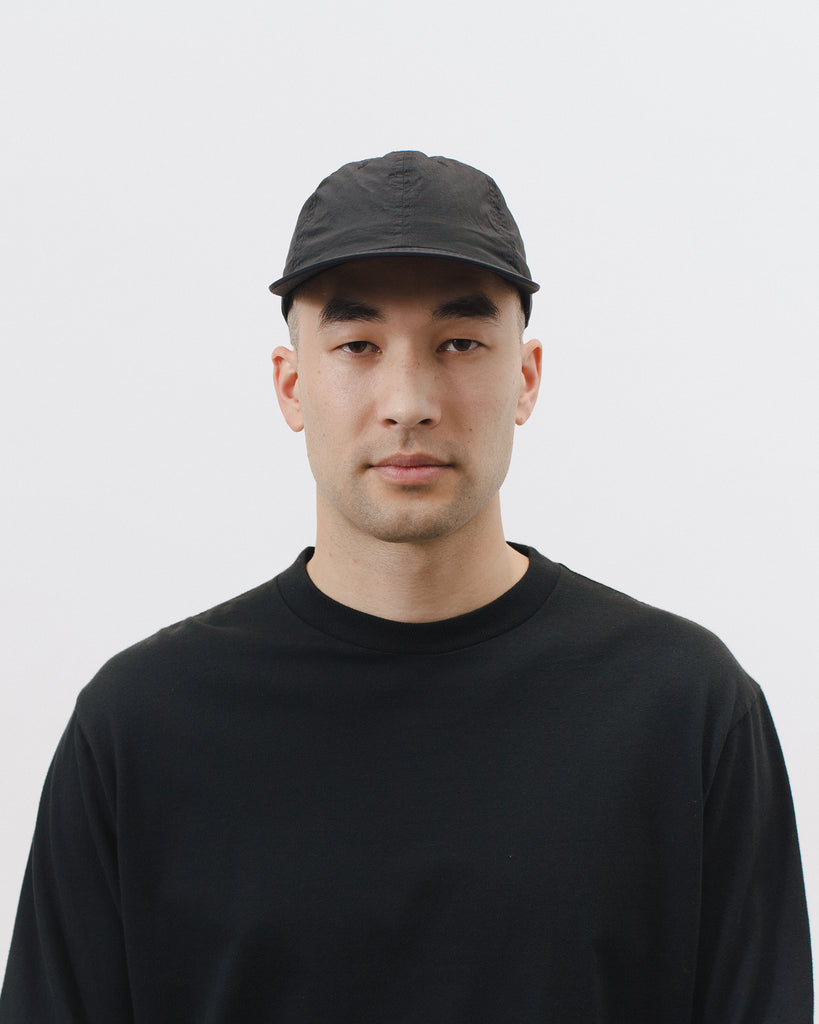 Dyed Nylon Ball Cap - Black - [product _vendor]