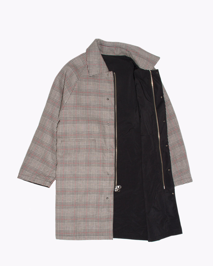 Check Overcoat - Wales Plaid