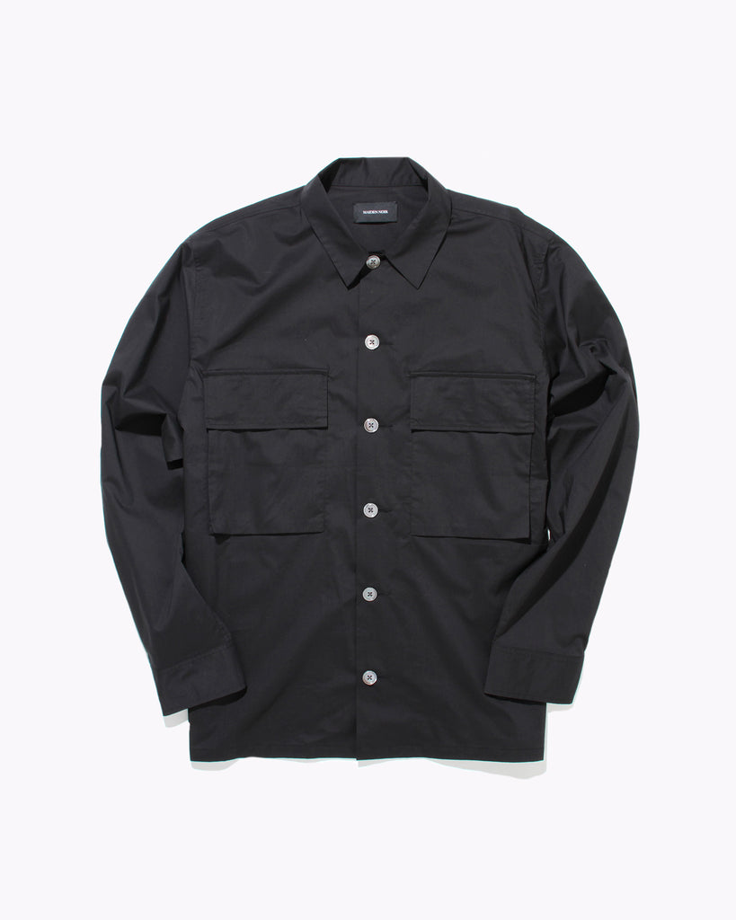 Typewriter LS Shirt - Black