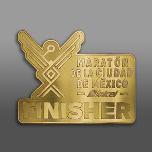 Pin Maratón CDMX FINISHER