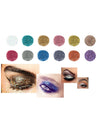 Twelve Sets Of Diamond Eye Shadows