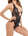 Sexy Splicing One-Piece Lingerie