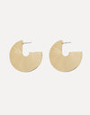 C Shaped Open Stud Earrings