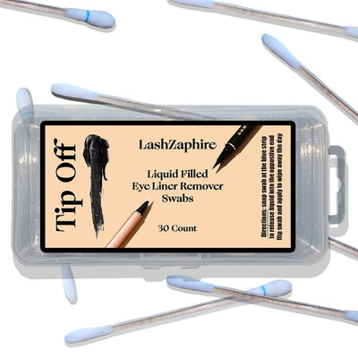 Tip Off - eyeliner remover - Lashzaphire