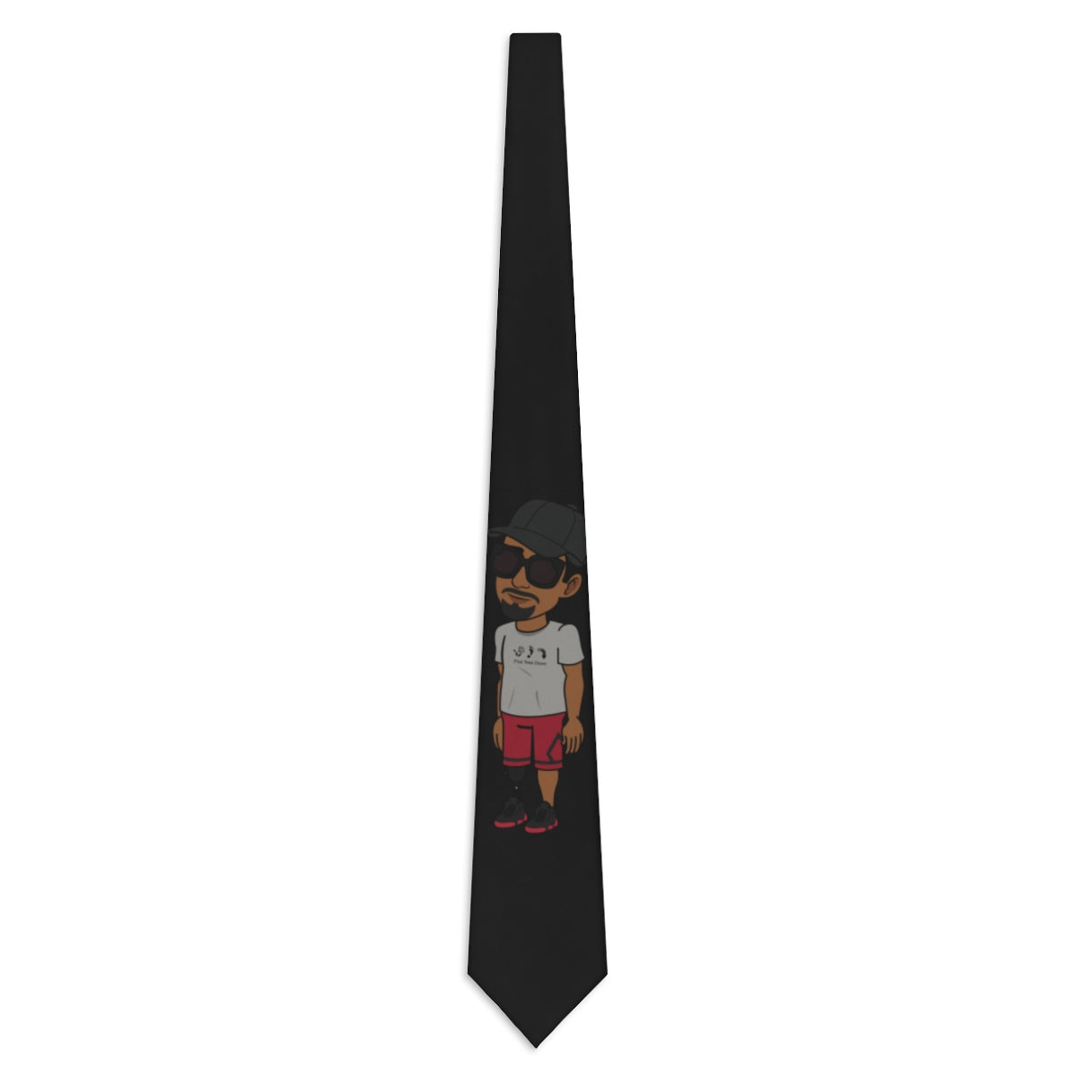 Five Toes Down Henry the Amputee Necktie