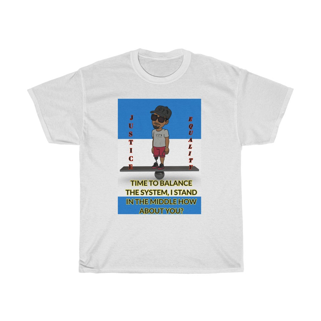 Five Toes Down Balance Unisex Tee