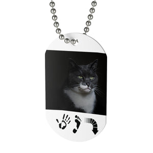 Five Toes Down Cat Tag
