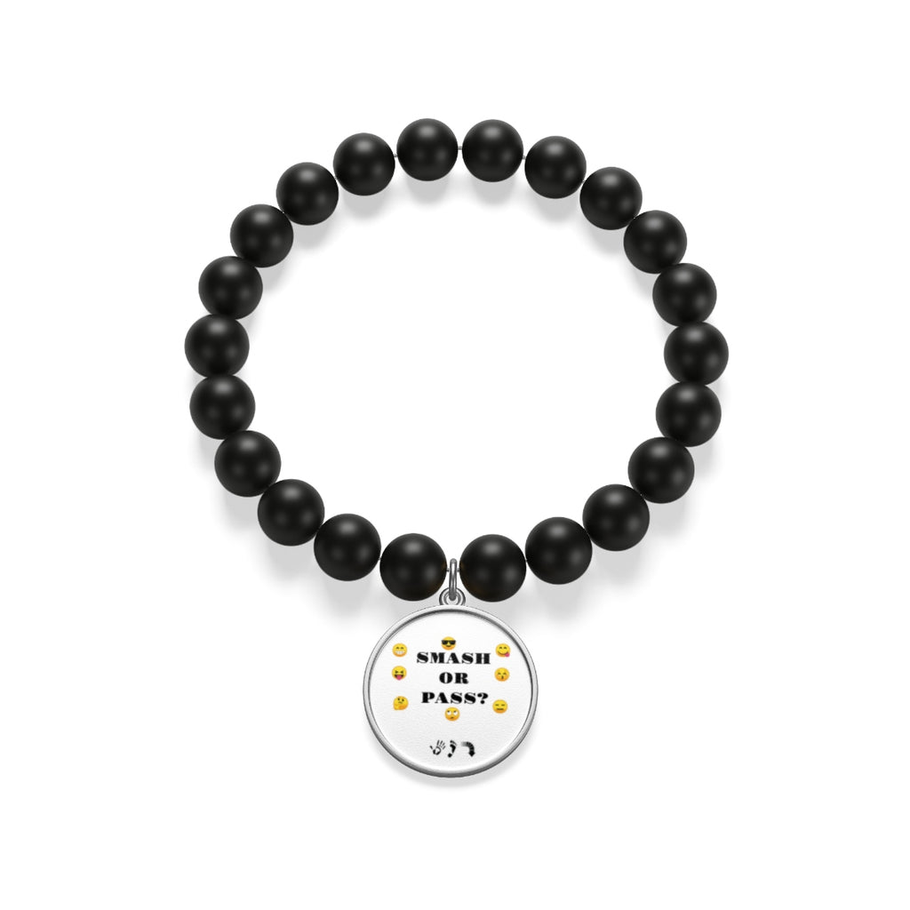 Five Toes Down Smash/Pass Matte Onyx Bracelet