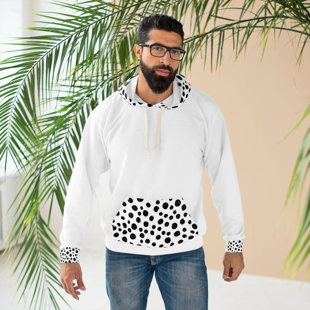 Five toes Down Dalmatian Unisex Pullover Hoodie
