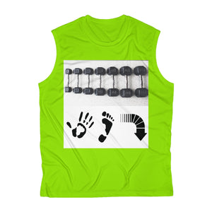 Five Toes Down Weights Performance Tee
